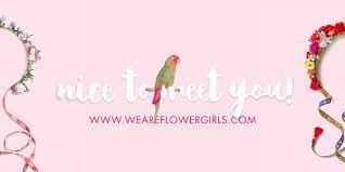We Are Flowergirls | Custom & Handmade <b>Flower</b> Crowns