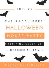 Invitation For Party Template Cool Customize 4848 Halloween Party Invitation Templates Online Canva