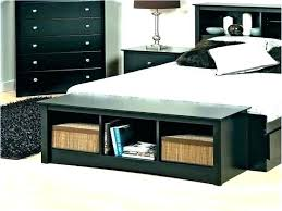 Wood Bed Benches Storage Bench Beautiful Bedroom With Stylish End Reclaimed
