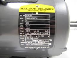 5 hp electric motor single phase wiring diagram solidfonts oem replacements single phase baldor 5hp motor wiring diagram