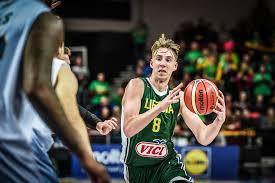 Arnoldas Kulboka, una apuesta de futuro que ha hecho el retabet bilbao basket con este joven tirador lituano.
