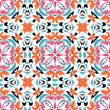 Mexican Pattern Gorgeous Cute Mexican Stylized Talavera Tiles Seamless Pattern Background