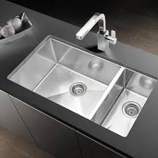 blanco precision 33 x 18 18 gauge 1 1 2 double bowl stainless steel undermount sink 516218 bbq guys