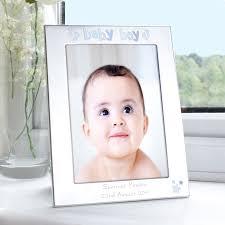 personalised silver 5x7 baby boy photo frame 26408 p jpg