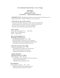 Non Traditional Resume What Is A Traditional Resume Enderrealtyparkco 4