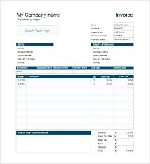 Free Sales Invoice Free Sales Invoice Template Excel Download South Africa