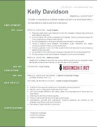 Resume Cover Letter Templates Medical Assistant Template Open Office