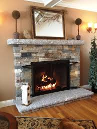 home depot stacked stone panels fireplace