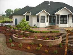brick retaining wall systems garden
