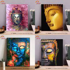 Tranh sơn dầu số hóa tự tô màu theo số Tuyển tập Tranh Phật Giáo đẹp bán  chạy - HaLa Store