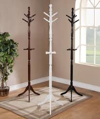 ... Wardrobe Racks, Clothes Hanger Stand Ikea Clothing Rack Walmart Elegant  Glossy Wooden Coat Stand Glossy ...