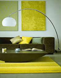 Floor lamps in living room Grey White Glass Arc Floor Lamp Modern Living Room Decorating Ideas Lushome Room Decorating With Contemporary Arc Floor Lamps