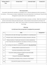 Risk Analysis Template - Free Word Documents Download | Free ...