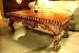 hand carved coffee table hand carved coffee table hand carved coffee table with glass top handmade coffee tables canada