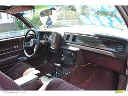 1988 Chevrolet Monte Carlo SS Maroon Dashboard Photo #63177388 ...