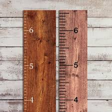 Diy Growth Chart Vinyl Vinyl Growth Chart Decal Diy Ruler Decal Kit Kids Height Ruler Measuring Tape