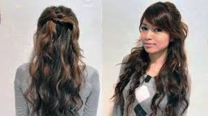 easy hairstyles for long frizzy hair
