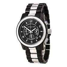 michael kors mens watch gunmetal michael kors mk8182 men s two tone gunmetal ip chronograph watch
