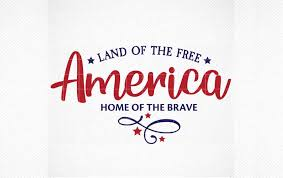 Encode your images (svg, png, jpeg) in base 64 for insertion into your html pages. Land Of The Free Home Of The Brave Graphic By Svg Den Creative Fabrica
