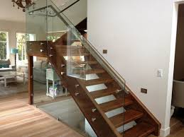 Image of: Modern Handrails For Stairs