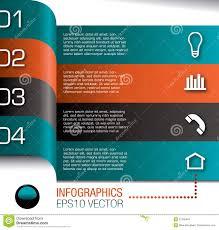Formart Design Infographics Design Template Stock Vector Illustration Of