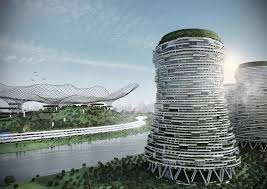 Sustainable Planting Design This Conceptual Design Reinvents Power Plants As Mixed Use