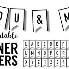 Baby Banners Template Diy Wedding Banner Templates Free Printable Letters For Custom