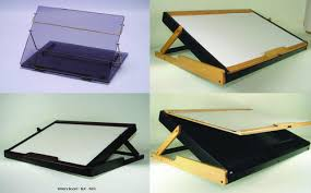 Elevated Desk Top - Acrylic & Wooden