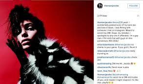 marc jacobs accidentally posts nude selfie and outclasses.