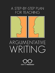 a step by step plan for teaching argumentative writing cult of arg wri pin