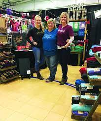 New business, Real Life Apparel, and owners, Jasa Babb, Suzanne Gately, and  Leighton Babb, celebrated their grand openin… | Dream business, Success  stories, Success
