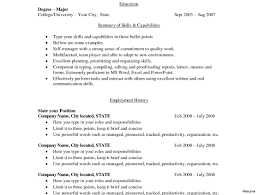 Resume With Bullet Points Examples Sugarflesh