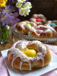 Individual Italian Easter Bread Ringseasy Step By Step Directions