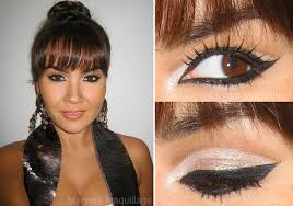 the winged eye makeup look is very clic and versatile it goes well with many