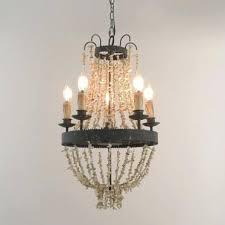 chandelier strands crystal