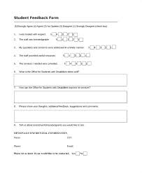 Free Feedback Form Delectable Event Feedback Form Template Word Free Forms Documents In Ideas Post
