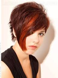edgy asymmetrical short hairstyle for thick hair