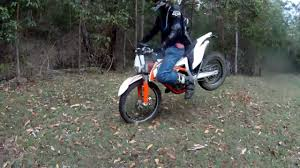 ktm freeride 350 test ride review youtube