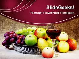 Wine Powerpoint Template Wine Fruits Holidays Powerpoint Themes And Powerpoint Slides 0211