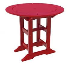 poly duke 36 round dining table