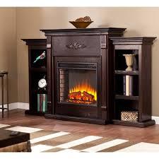 harper blvd dublin 70 inch espresso electric fireplace