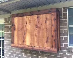 outside tv cabinet outdoor wall cabinet outdoor cabinet made of rough cedar lumber outside wall cabinet