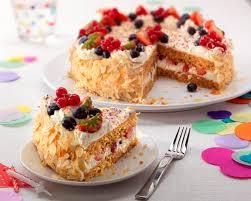 Fruit Birthday Cake Recipe Bake With Stork