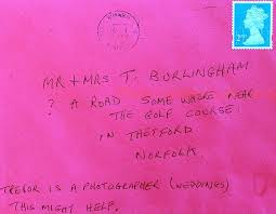 How To Address A Christmas Card How Royal Mails Detective Skills Delivered Letter With A