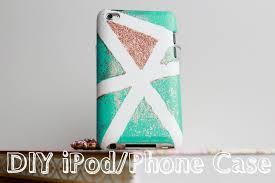 diy decorate your phone or ipod case karla medina you simple ideas design