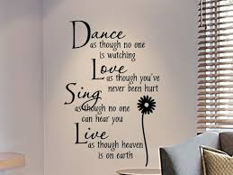 wall art design ideas dream wall writing art sample nice