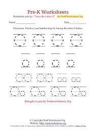 Pre-K Worksheets Alphabet Tracing | Pre K Worksheets Org