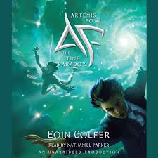 artemis fowl the time paradox audiobook by eoin colfer