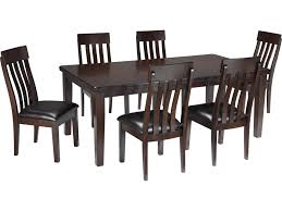 Rectangle Dining Room Tables Signature Design By Ashley Haddigan 7 Piece Rectangular Dining