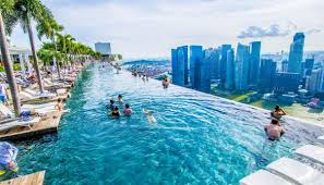 Marina Bay Sands in Singapore hotel with the most impressive